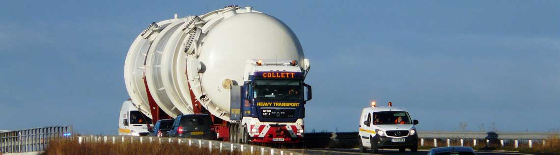 BE16 Special Order for Collett Heavy Transport Logistics