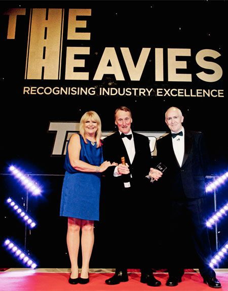 Chris Baker Receives the Collett Heavies Job of the Year Award