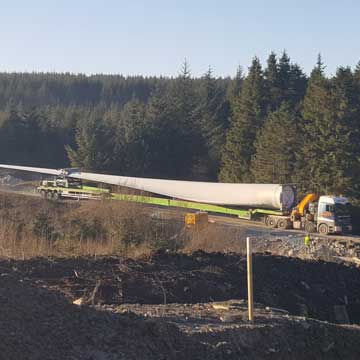 Clocaenog Forest Wind Farm Begins