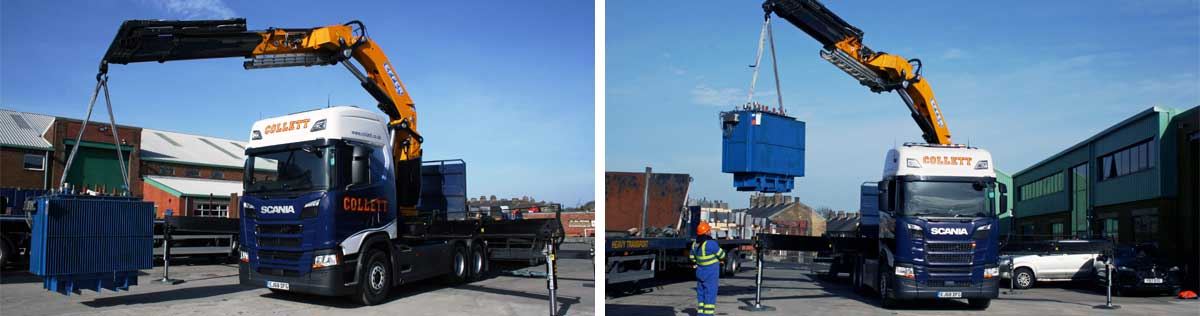 New Effer 6x2 Crane Vehicle Joins the Collett Fleet