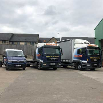 Focus on our General Haulage Fleet