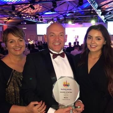 Halifax Business Award for Collett!