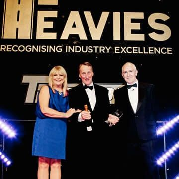 CAT3 Job of the Year Heavies Award!