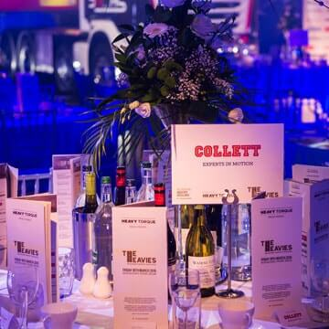 Collett Shortlisted for the Heavies 2020