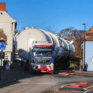 140 Tonnes from Kilnhurst to Immingham