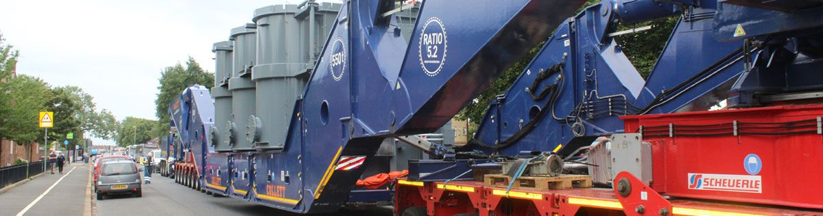 Collett Heavy Transport Girder Bridge Delivers Lovedean Transformer