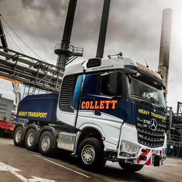 Collett Heavy Haulage New Mercedes-Benz Arocs SLTs