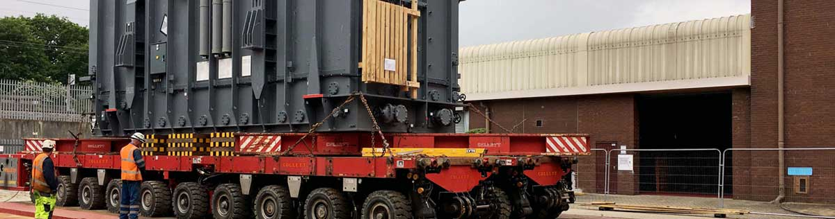Collett Girder Bridge Delivers Transformers to Sellindge Substation