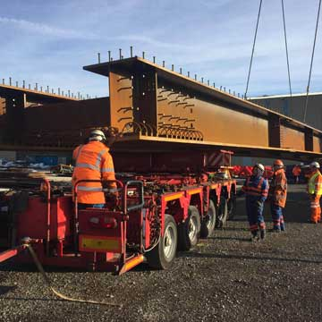 Turntable Tech for Severfield GirdersTurntable Tech for Severfield Girders