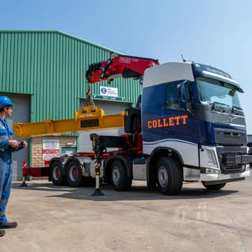 New Volvo Fassi Crane Vehicle Joins the Fleet!
