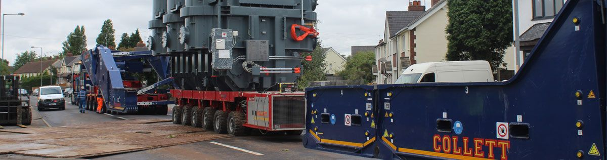 Willenhall Super Grid Transformer Arrives at the Substation