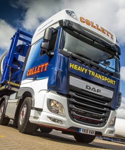 Collett Heavy Transport, Abnormal Load & Specialist Cargo Logistics
