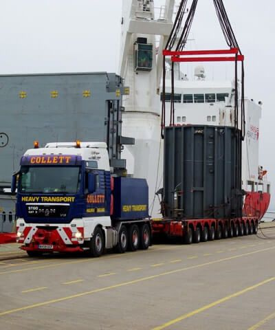 Port Operation, Breakbulk & Project Cargo Shipping