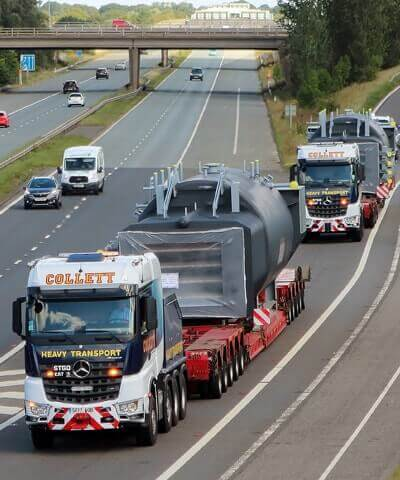 Abnormal Load Logistics, Crane Vehicles, Transport Permits & Pilot Cars