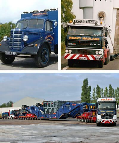 Collett Experts in Motion, Heavy Haulage & Abnormal Load Specialists