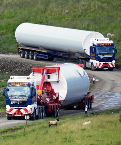 Renewable Energy & Wind Turbine Transport Specialist Logistics