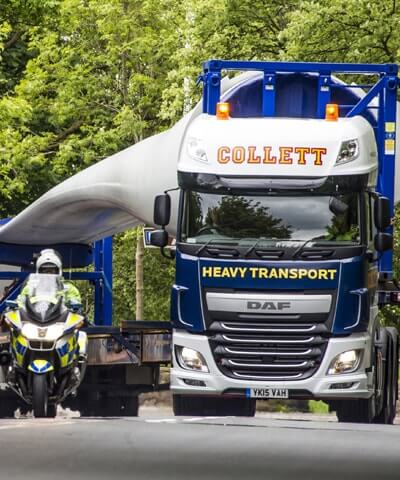 Wind Farm Developments Heavy Transport