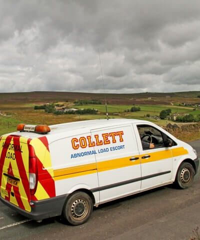 Collett Nationwide Abnormal Load City & Guilds Heavy Haulage Pilot Cars
