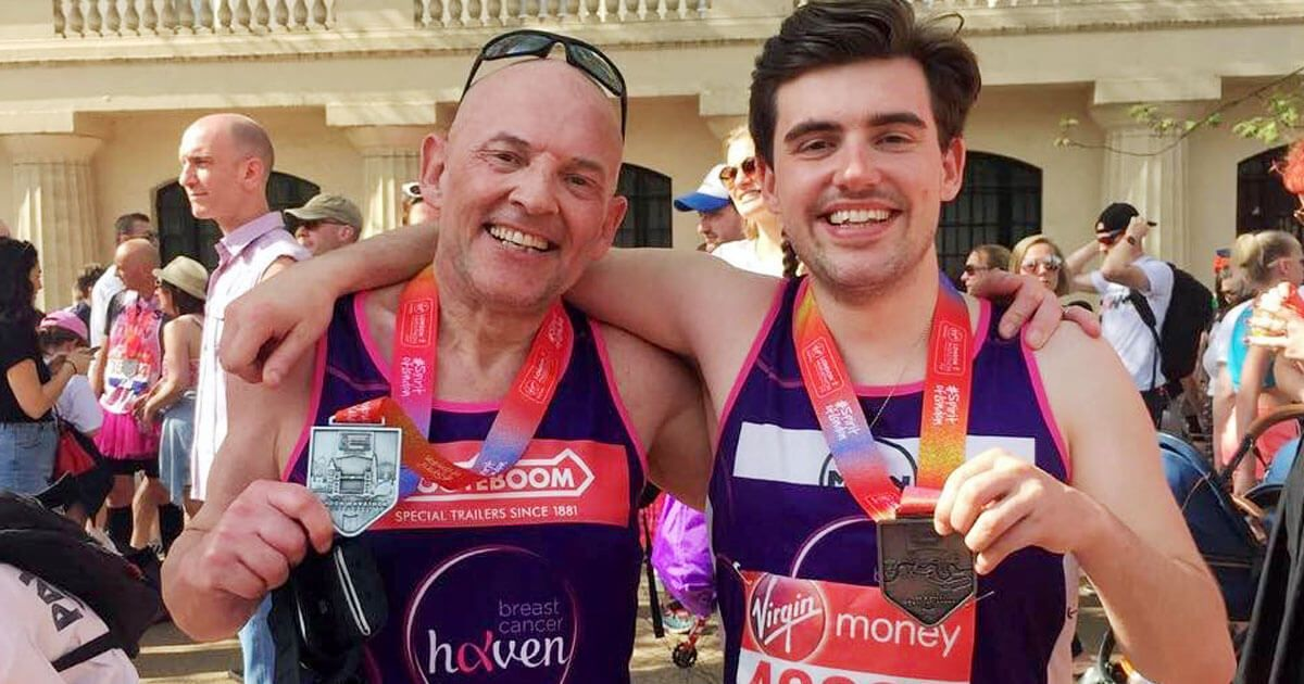 Collett Take on the London Marathon for Breast Cancer Haven