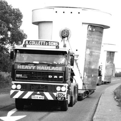 Collett & Sons Heavy Haulage History