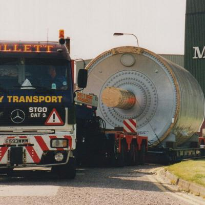 Heavy Transport Mercedes-Benz Prime Mover