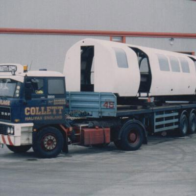 Heavy Haulage Train Carriage
