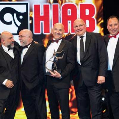 Collett Win at the Motor Transport Awards